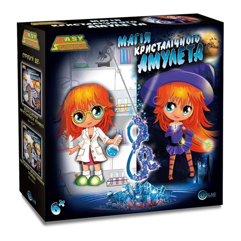 Магия кристаллического амулета, игровой набор, (укр.упаковка), EasyScience