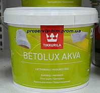 Тиккурила Бетолюкс Аква краска для пола - Betolux Akva Lattiamaali  База А 2,7л
