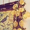 Батарея Powered 2.3M 20LEDs Теплый белый ананас Shaped На открытом воздухе Фонари String Lights для праздников, фото 2