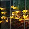 Батарея Powered 2.3M 20LEDs Теплый белый ананас Shaped На открытом воздухе Фонари String Lights для праздников, фото 5