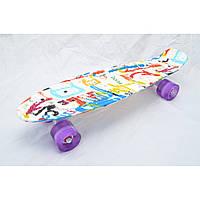 Скейт Penny 45, четырёхколёсный скейт