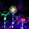 ARILUX® Солнечная Многоцветное изменение LED Цветовое освещение света Прозрачный свет абажура
