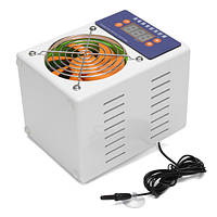 100W Fish Tank Shrimp Аквариум Mini Water Chiller Cooling Fan Machine 110 -220V