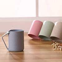 Простые средства защиты окружающей среды Пшеница Fiber Wash Cup Drink Cup Tumblers для воды Coffee, Чай Молочный сок