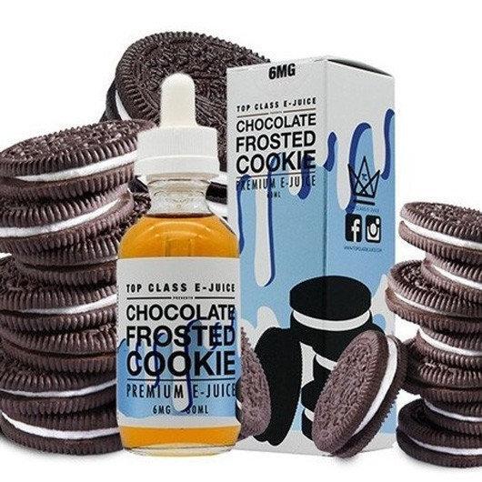 Премиум жидкость для электронных сигарет Top Class E-Juice Chocolate Frosted Cookie 60 ml (clone)