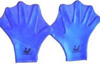 Лопатки для плавания силиконовые.