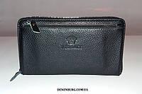 Клатч мужской VERSACE V66050-4 чёрный, фото 1