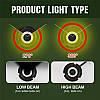 Світлодіодна лампа H4 36 Вт (в наявності 1 штука 36 Вт) 8000LM пара, 6500K LED HEADLIGHT, фото 4