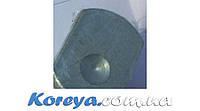 Кронштейн крепления зеркала (пластина) салона на стекло Сенс, Ланос 94580564 Корея