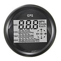 GPS Спидометр Водонепроницаемы Цифровой измеритель одометра Черный для транспортного средства