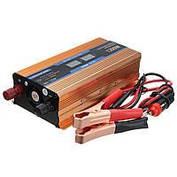 1200W Car Power Inverter Converter Adapter DC 12V to AC 220V Modified Sine Wave
