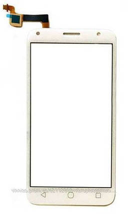 Тачскрин (сенсор) Alcatel 5010D One Touch Pixi 4, OT5010, 5010E, white (белый), фото 2