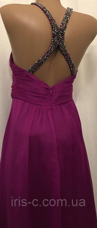Платье коктейльное шифоновое размер XS/S