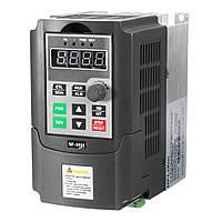 220V 0.75KW 4A Однофазная переменная скорость Мотор Частота вращения преобразователя частоты