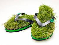 Вьетнамки с травой