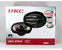 Колонки автомобильные UKС TS-6994, автоколонки 16 см, автомобильные акустические динамики