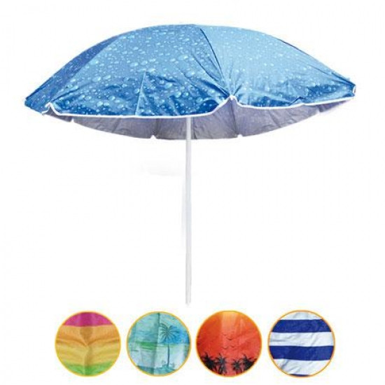 Пляжный зонт с защитой от ультрафиолетового излучения    Anti-UV (диаметр 1.8м) - PREZENTIMO в Киеве