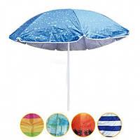 Пляжный зонт с наклоном 1.8м с ультрафиолетовой защитой