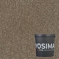 Декоративная штукатурка YOSIMA SCBR 1.0 умбра натуральный 20 кг