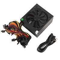 1600W Модульный блок питания Mining Power Supply Mining Rig для 6 GPU 90