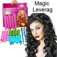 Бигуди для локонов MAGIC LEVERAGE RUSS. (100), волшебные бигуди, бигуди для волос magic leverage