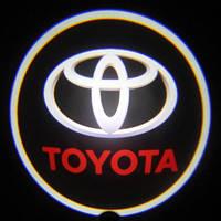 Дверной логотип LED LOGO 001 TOYOTA, светодиодная подсветка на двери с логотипом, логотип на дверь авто