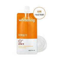 Маска ночная осветляющая Aritaum Whitening Fresh Power Essence Pouch Pack