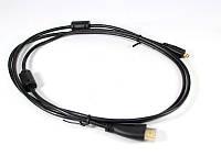 Кабель HDMI-microHDMI 1.5m, кабель адаптер micro usb hdmi, микро hdmi переходник, адаптер hdmi