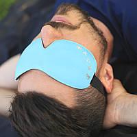 Маска для сна ROMIX RH37BL синий