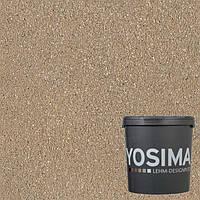 Декоративная штукатурка YOSIMA SCBR 3.1 умбра натуральный 20 кг