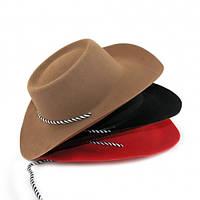 Шляпа Ковбоя Флок