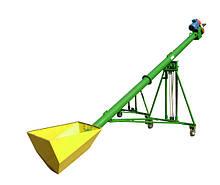Шнековые погрузчики ø 140 мм. производительностью 10-15 тонн в час.