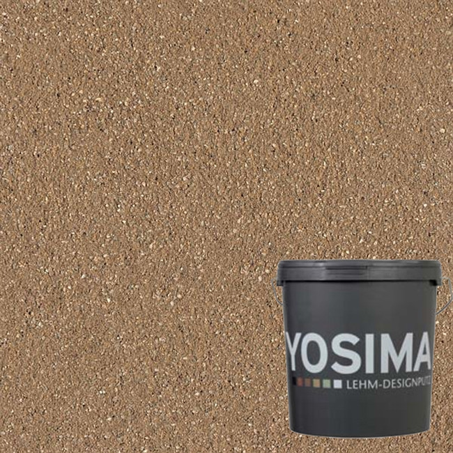 Декоративная штукатурка YOSIMA SCBR 4.0 умбра натуральный 20 кг