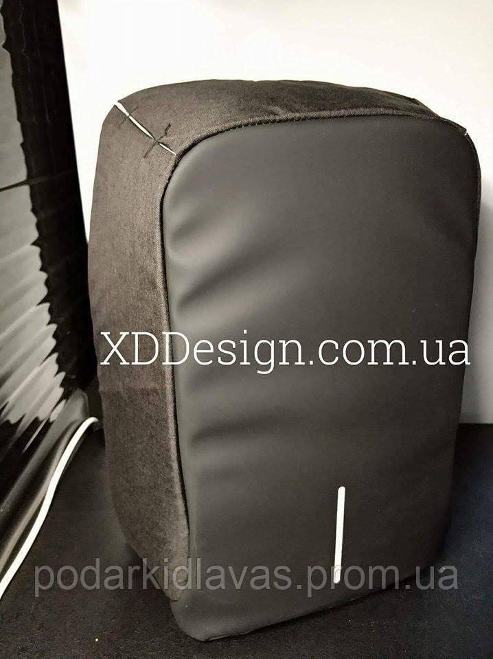 Рюкзак противандальный Бобби, версия Люкс+, с зарядным устройством  в комплекте
