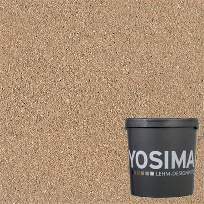 Декоративная штукатурка YOSIMA SCBR 4.1 умбра натуральный 20 кг