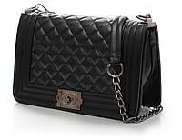 Женская сумка/клатч Chanel BOY, Шанель, средний (ЧЕРНЫЙ), 00843