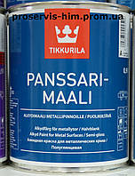 Panssarimaali Tikkurila, краска для крыш Панссаримаали База С 0,9л