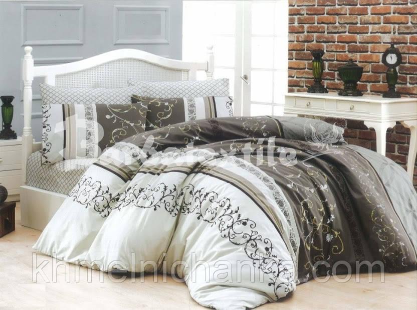 Полуторный набор  постельного  белья №364