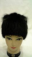 Жіноча зимове хутряна шапка, фото 1