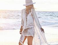 Пляжная накидка White swan