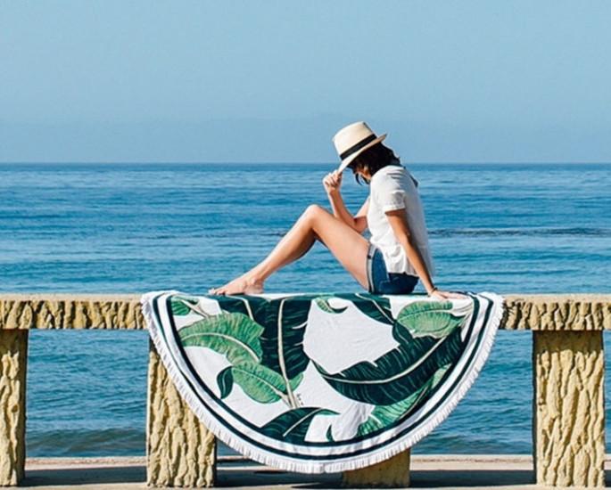 Пляжный коврик Листья - PREZENTIMO в Киеве