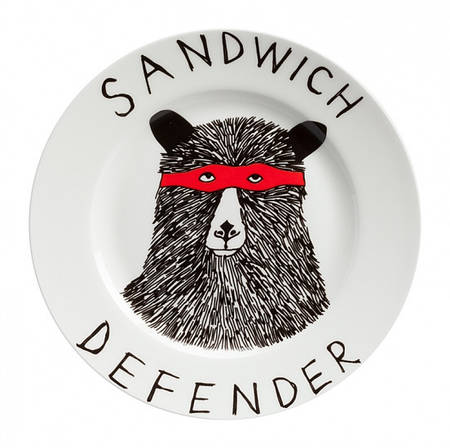 Тарелка На страже порядка