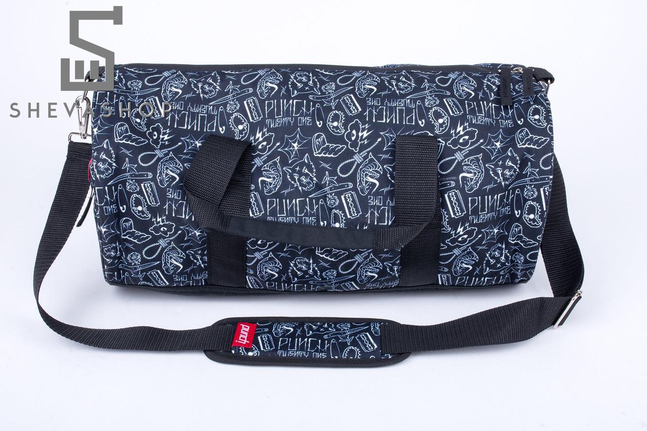 8ea235b6e16b Спортивная сумка Punch Barrel Tattoo Negative тёмно-серая - купить ...