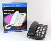Телефон домашний стационарный Panderphone KX 3014, кнопочный домашний телефон