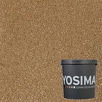 Декоративная штукатурка YOSIMA BRGE 1.0  охро-золотой 20 кг