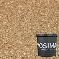 Декоративная штукатурка YOSIMA BRGE 1.1  охро-золотой 20 кг