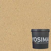 Декоративная штукатурка YOSIMA BRGE 1.2  охро-золотой 20 кг