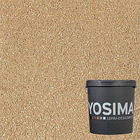 Декоративная штукатурка YOSIMA BRGE 2.1  охро-золотой 20 кг