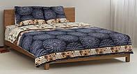 Комплект постельного белья Пальмира, хлопок, полуторный