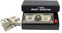 Ультрафиолетовый детектор валют 118AB Battery, портативный детектор подлинности валют
